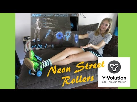 Neon Street Rollers From Yvolution Doovi