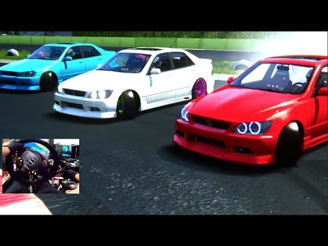Assetto Corsa PC MODS - Drifting w/HAGGARD GARAGE is300 Trains