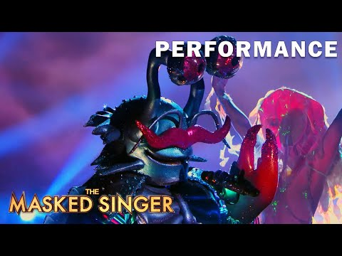 """Crab sings """"Ain't No Sunshine"""" byBill Withers 