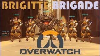 Brigitte Brigade INSANITY | Overwatch