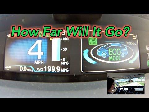 EV Mode Range Test