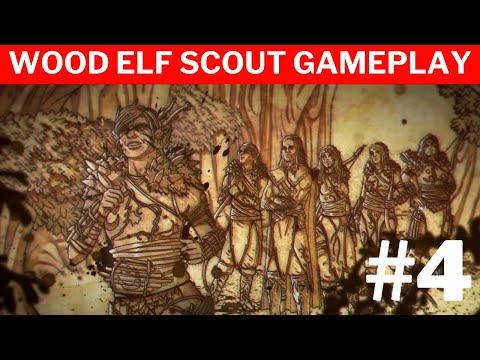 Warhammer Chaosbane Tomb Kings  #4 | Wood Elf Scout Gameplay |