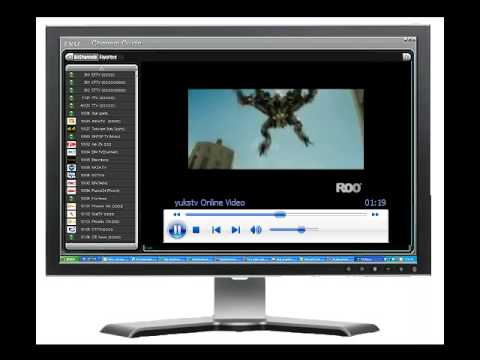 Satellite TV for PC from Internet