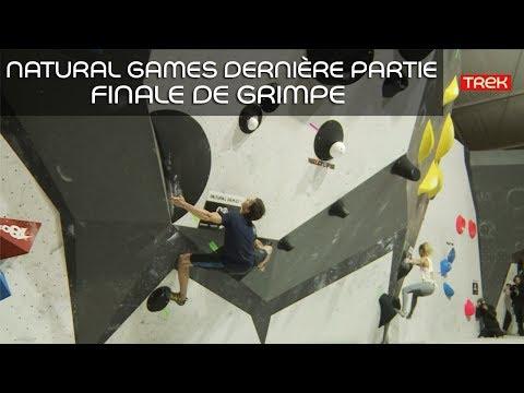 [Natural Games 2017] Revivez le live! - Dernière partie: finale de grimpe - Trek TV