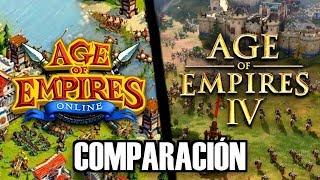 AGE OF EMPIRES 4 NO ES CARTOON !!! COMPARACIONES y OPINIONES