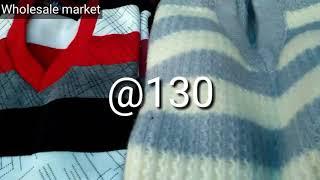 wholesale market of cheapest sweaters//जहां से स्वेटर खरीदें ₹20 ,₹50, ₹80, ₹100