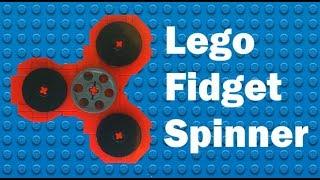 LEGO FIDGET SPINNER TUTORIAL