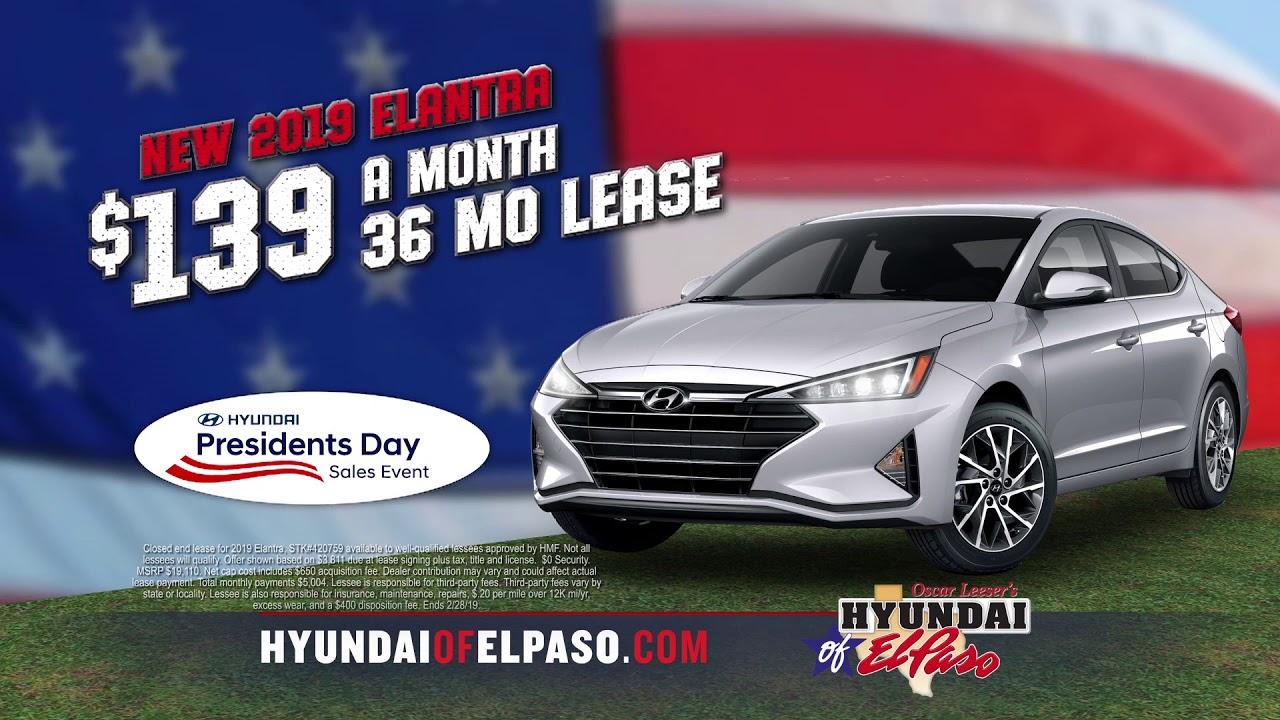 Hyundai Of El Paso >> Hyundai Of El Paso Presidents Day Youtube