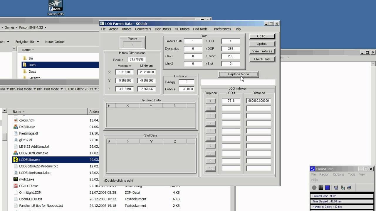 Installation: Pilot Model for BMS via LODeditor - YouTube