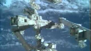 Dextre is put through its paces on the International Space Station
