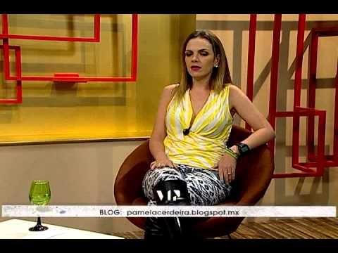 Entrevista con Pamela Cerdeira en Galería VIP