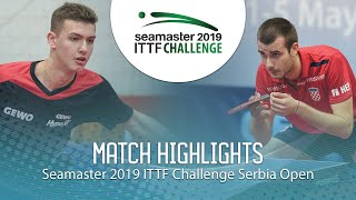 Лев Кацман vs Tomislav Pucar | Serbia Open 2019 (R16)