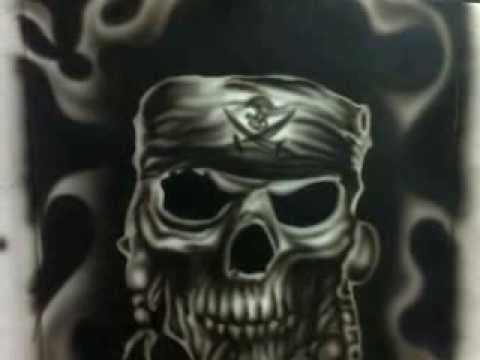 Calavera Pirata Youtube