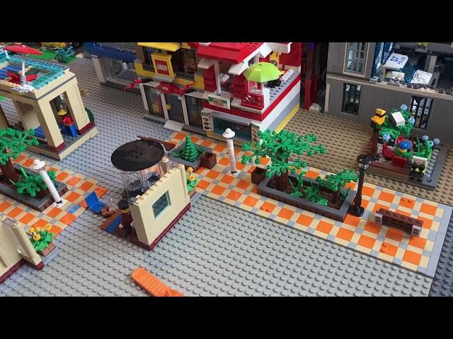 Lego Stadt Update 7/Die Fußgängerzone versetzen (1)