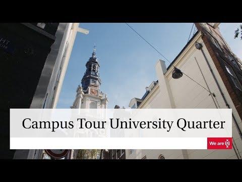 University of Amsterdam | Campus Tour University Quarter