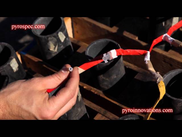 How to Load Fireworks Finale Shells