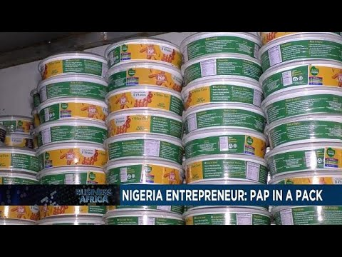 Nigerian entrepreneur turns traditional meal into hot commod