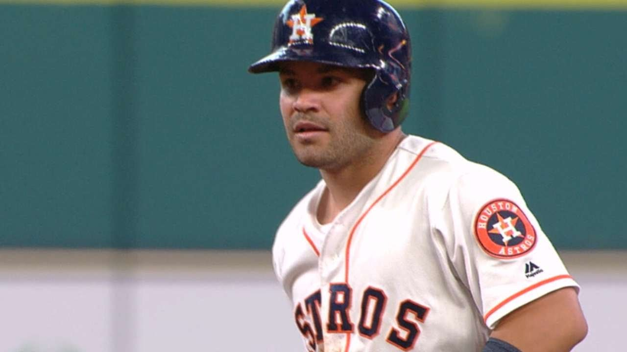 the latest b163a 0adad Jose Altuve is July's AL Player of the Month
