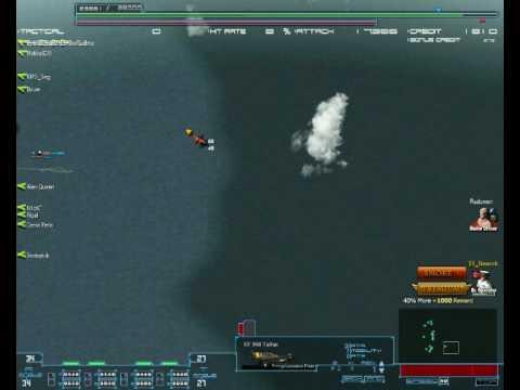 CS fleet vs Reichsmarine, 20.12.2009, 1. bitka 1/3