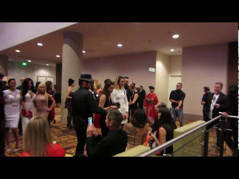 Abigail Mac, Vanessa Veracruz & Samantha Saint - SLIVAN #347 - 2015 XBIZ Awards