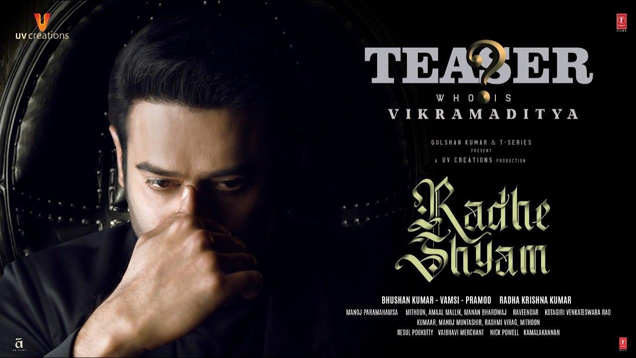 Download Prabhas as Vikramaditya | Character Teaser | Radhe Shyam | Pooja Hegde | Radha K Kumar | Bhushan K