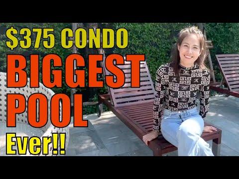 $350 Condo in Bangkok - Best Swimming pool in Bangkok! | Baan Smile 2021