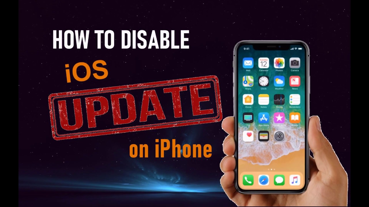 How to Turn off iOS 12 Update Notification