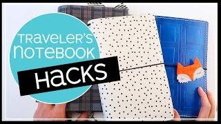 Traveler's Notebook Ideas 2019 | 10 TN Hacks for Beginners