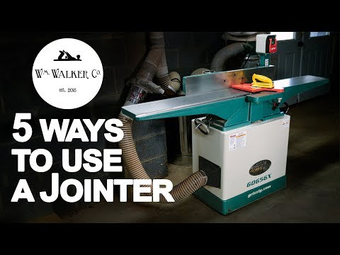 How to Use a Jointer 5 Ways | What is a Jointer | Woodworking