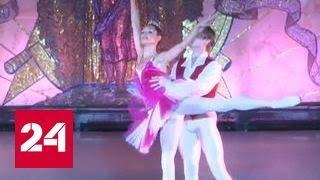 """Метро """"Новослободская"""" превратилась в сцену для балета"""