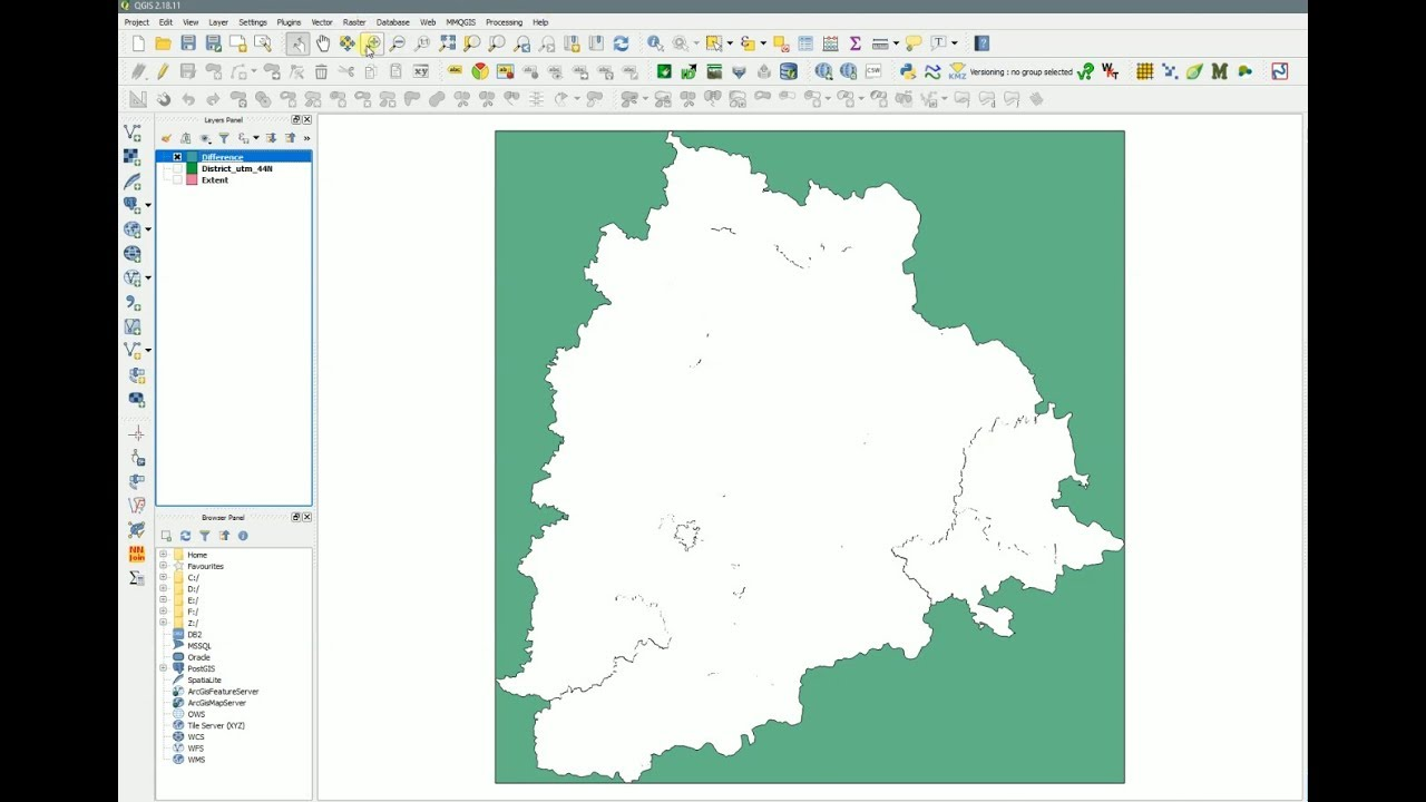 QGIS - Fill gaps and slivers between polygons - Difference - Part II