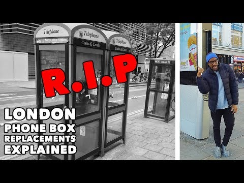 London Phone Box Replacements (InLinkUK Kiosks) - EXPLAINED