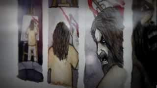 """""""EL MODELO DE PICKMAN"""". Exposición de originales del cómic. Biblioteca de La Reina (2012)."""