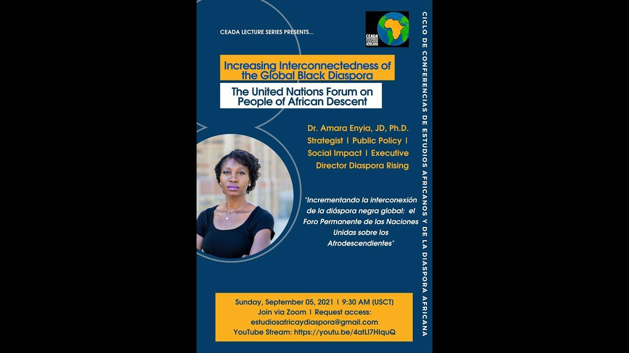 Dr. Amara Enyia, Increasing Interconnectedness of the Global Black Diaspora