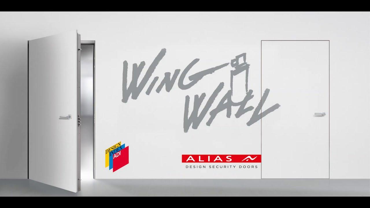 Armadio Raso Muro rcm - porte blindata raso muro wing