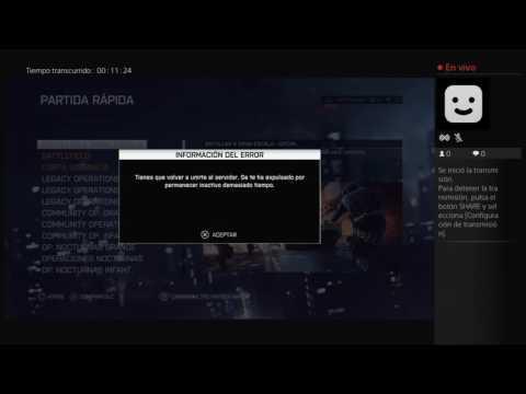 Transmisión de PS4 en vivo de thor_vazques