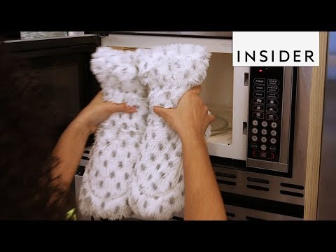 Download Youtube: Warm Up Feet with Microwavable Slippers