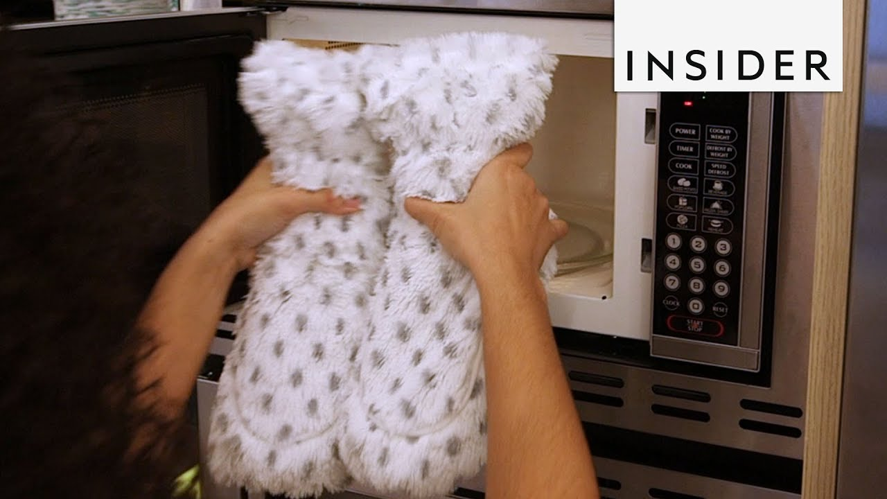 d771d2bd91ff Warm Up Feet with Microwavable Slippers - YouTube