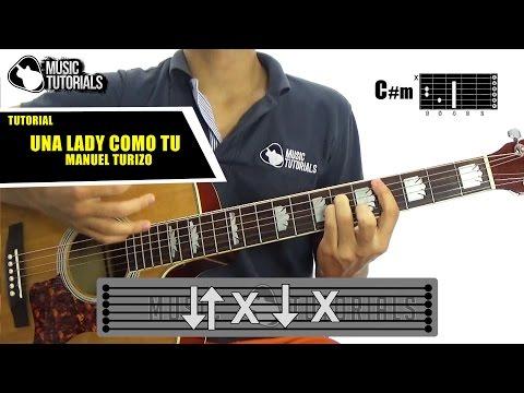 Cómo tocar Una Lady Como Tu de Manuel Turizo en Guitarra | Tutorial + PDF GRATIS