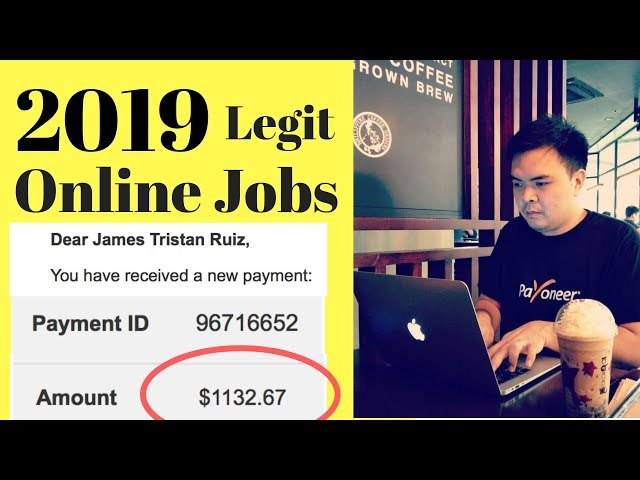 Paano Kumita ng 3$ to 20$ in 1 Hour sa Online Jobs Philippines - Legit sites 2019