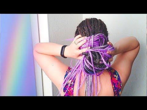9 ПРОСТЫХ  ПРИЧЕСОК на АФРОКОСЫ. 9 Box Braids Hairstyles. Quick And Easy
