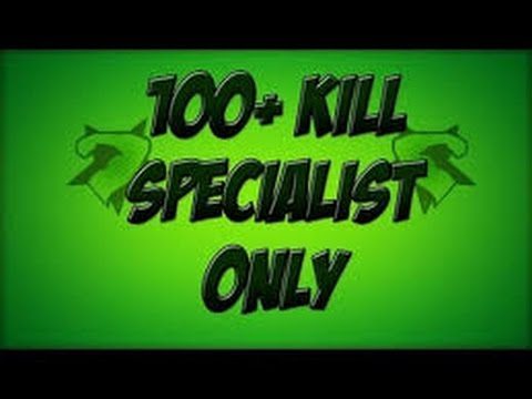 Mw3: 110 Kills Specialist with 80 Sec. Moab *Solo*
