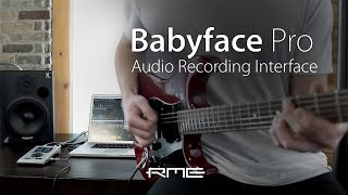 Babyface Pro - Professional USB Audio Interface by RME Audio