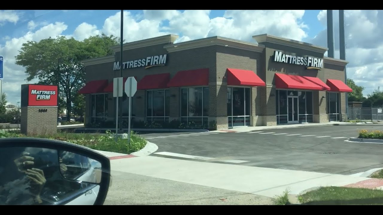 So Many Mattress Firm Stores Youtube