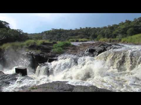 Top of Murchison Falls, Victoria Nile River, Uganda