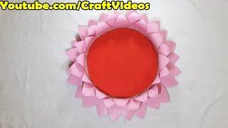 Ganpati Lotus decoration | Ganpati decoration ideas | Eco-friendly Ganpati Decoration