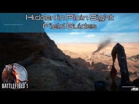 Battlefield 1 - All Field Manuals In 'Hidden In Plain Sight' (Nothing Is Written War Story)