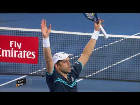 Muller/Evans ATP Final Highlights   Apia International Sydney