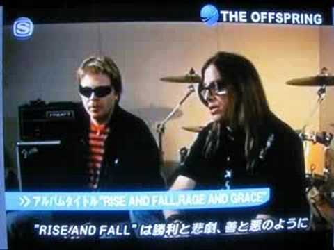 The Offspring Interview ( on the Japanese TV show )