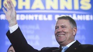 Klaus Iohannis réélu à la tête de la Roumanie